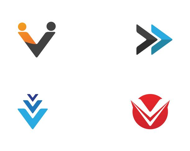 Modelo de design de logotipo abstrato de negócios