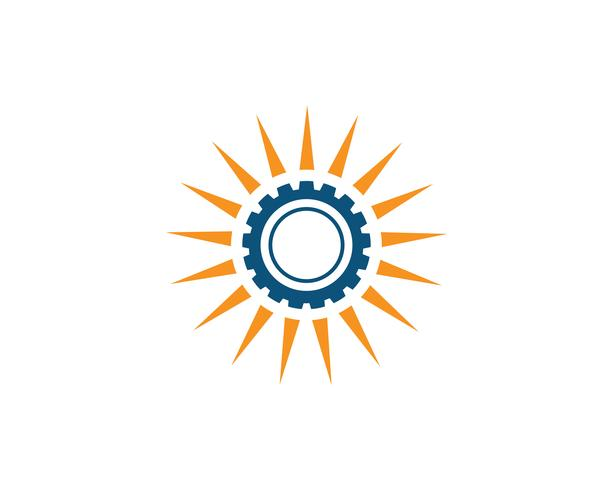 Progettazione dell'illustrazione dell'icona di vettore del modello della macchina dell'attrezzo