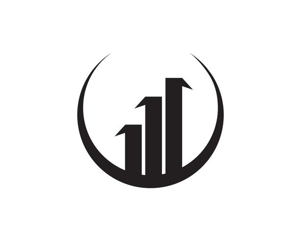 Financiën logo en symbolen vector concept illustratie ,,