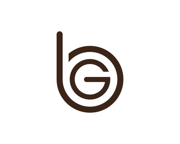G lettres logo et symboles modèle app icônes ..