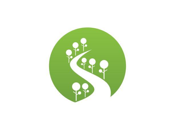 ga groen blad ecologie natuur element vector pictogram,