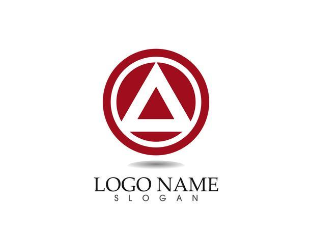 Logo-Designschablonen-Ikonen-APP des Geschäfts abstrakte
