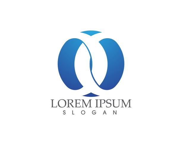 Modelo de design de logotipo abstrato de negócios ...