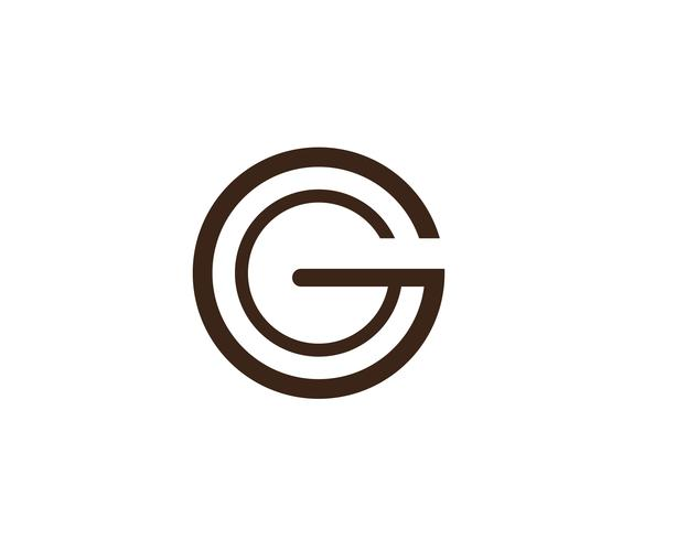 G letters logo and symbols template icons app.. vector