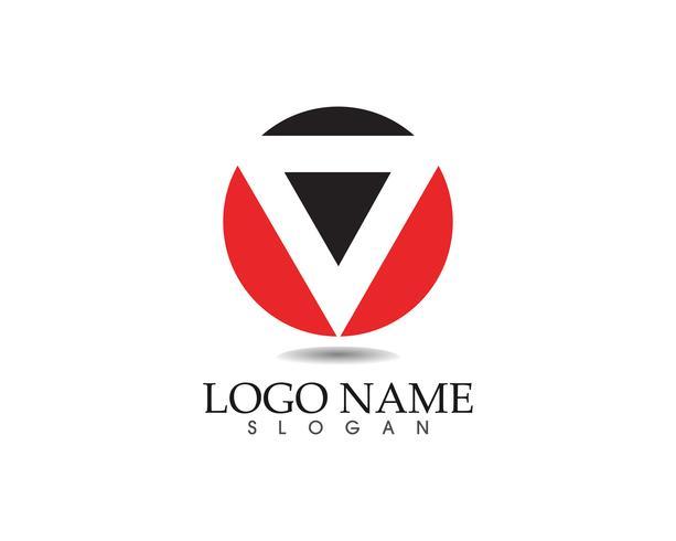 Application d'icônes de modèle Business logo abstrait design vecteur