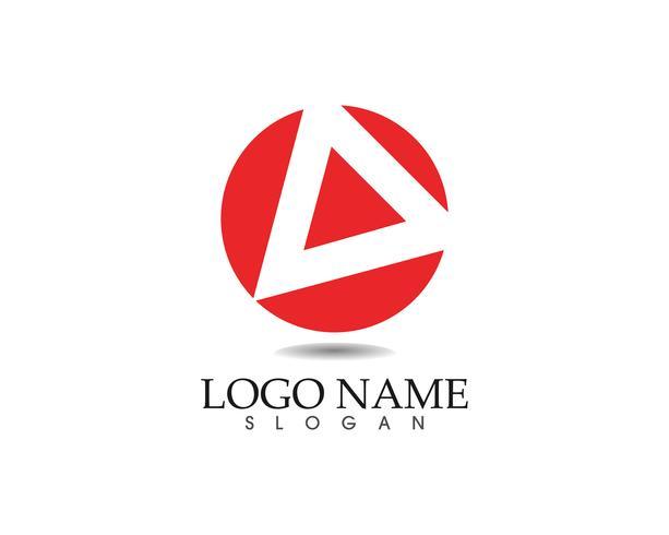 Pictogrammen voor zakelijke abstracte logo ontwerpsjabloon app