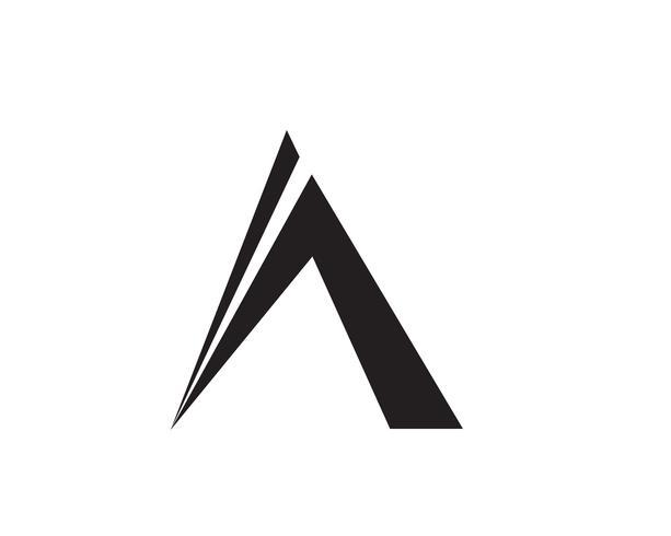 Ein Buchstabe Logo Business Template Vector