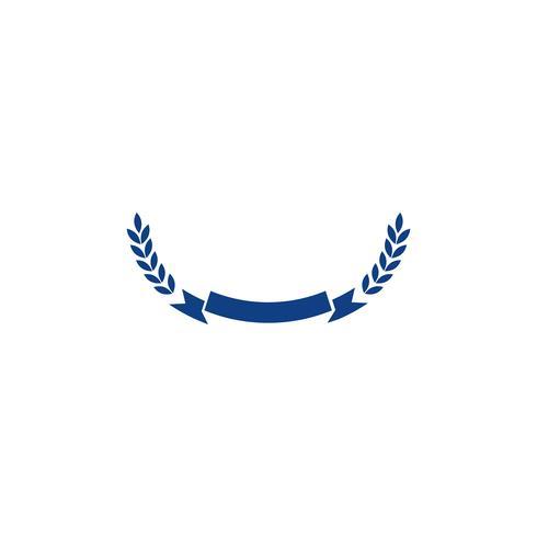 gouden landbouw boerderij lijn badge vintage logo sjabloon vectorillustratie