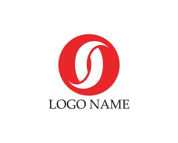 Modello di progettazione di logo astratto di affari