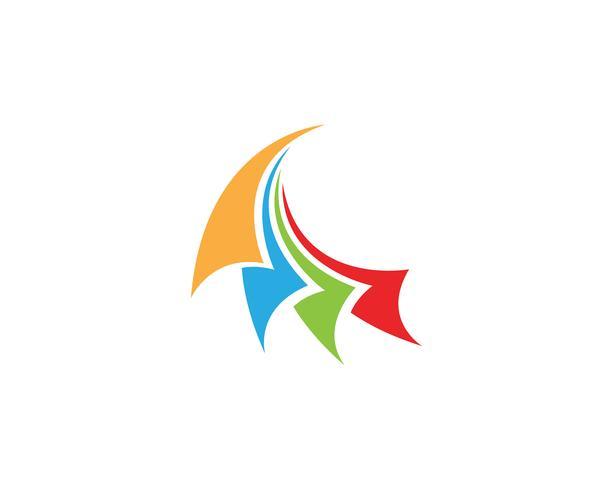 Financiën logo en symbolen vector concept illustratie ...