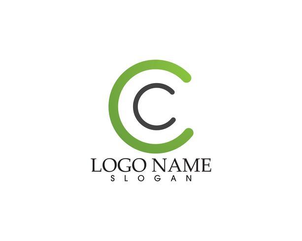 Technologie cirkel logo en symbolen Vector