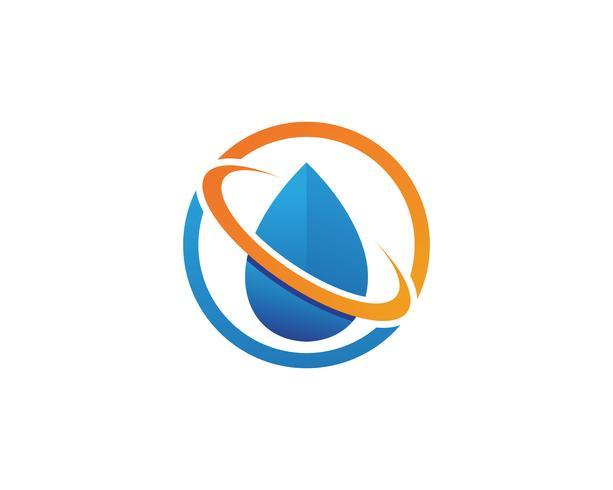 vattenfall Logo Mall vektor illustration design