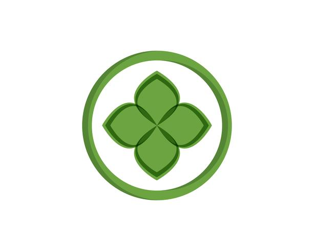 grön blad ekologi naturelement vektor ikon,