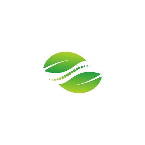 soins de santé nature logo design vector illustration élément icône