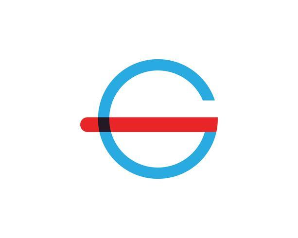 G letras logotipo e símbolos modelo de ícones app