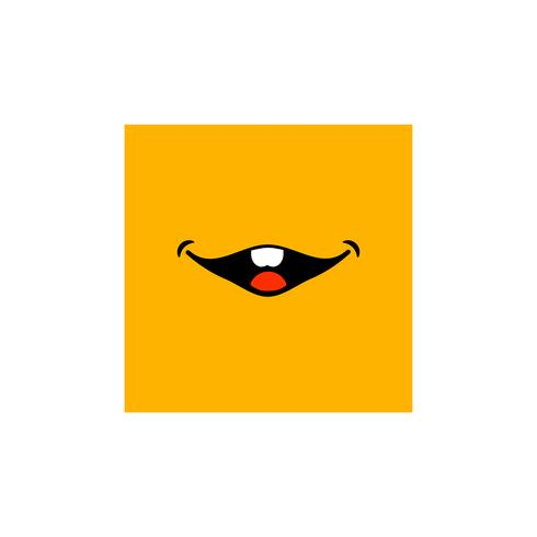 Emoticon cara símbolo o signo colección ilustración vectorial