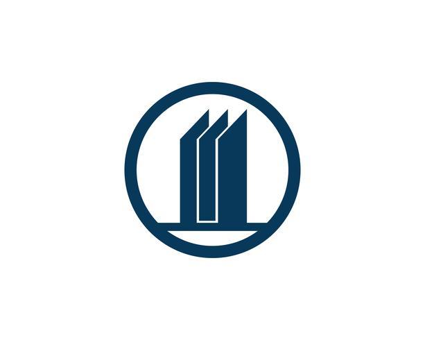 Finanzas logo y símbolos vector ilustración de concepto