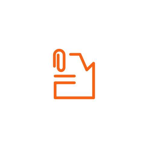 fichier archive document logo modèle vector illustration icône élément