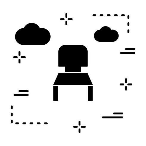 vektor stol icon