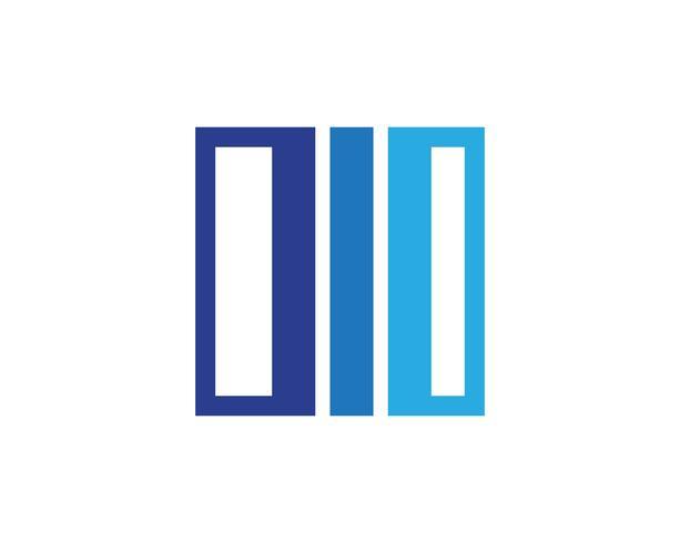finans logo och symboler vektor koncept illustration ..