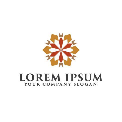 Logo vectoriel pour intérieur, magasins de meubles, articles de décoration et décoration de la maison.