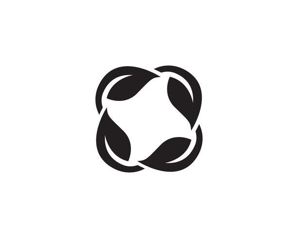 blattgrün natur logo und symbol vorlage