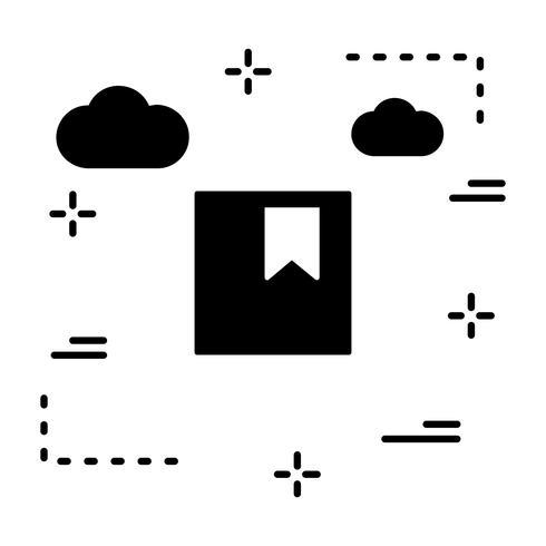 Vector icono de marcador