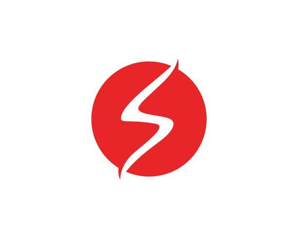 S Brief Logo Vorlage Symbole Symbole App