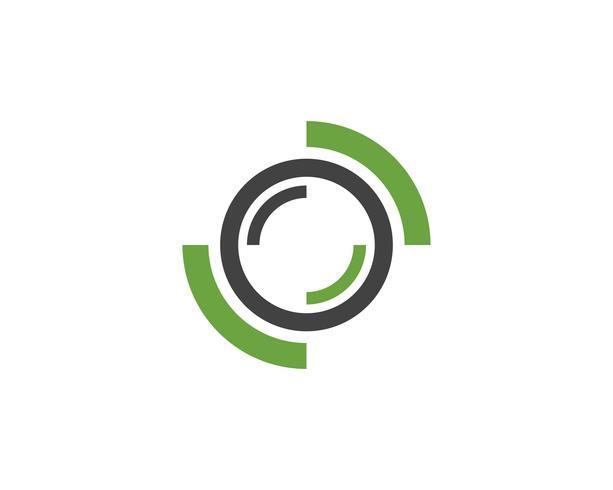 Tecnologia cerchio logo e simboli Vector ..