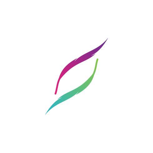 Abstracte zakelijke logo sjabloon vector illustratie pictogram element