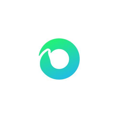 naturaleza hoja logotipo diseño vector ilustración icono elemento