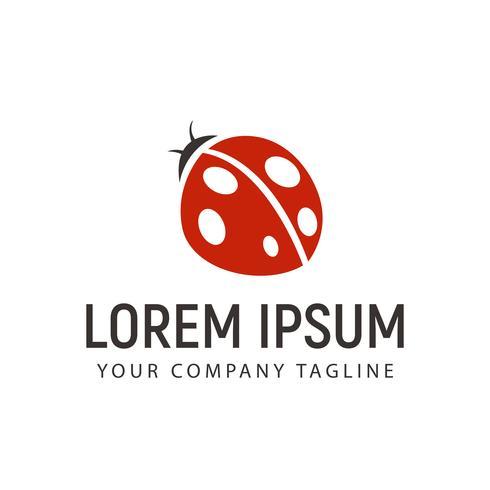 beetle logo design concept template vector