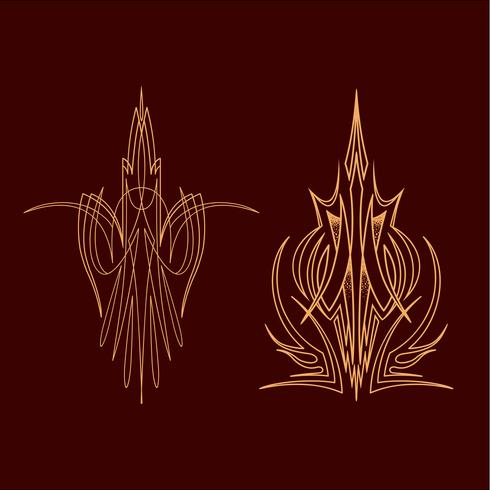 pinstriping vehicle graphic decorative vector vinyl decal