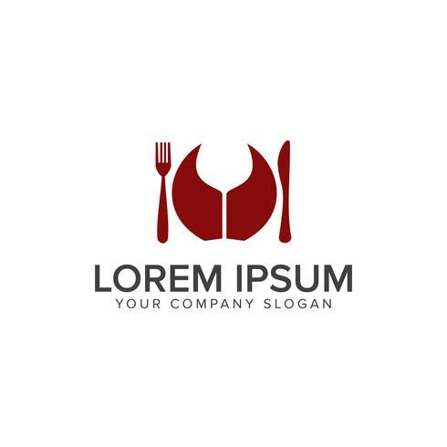 Modèle de concept de design Food Drink Logo