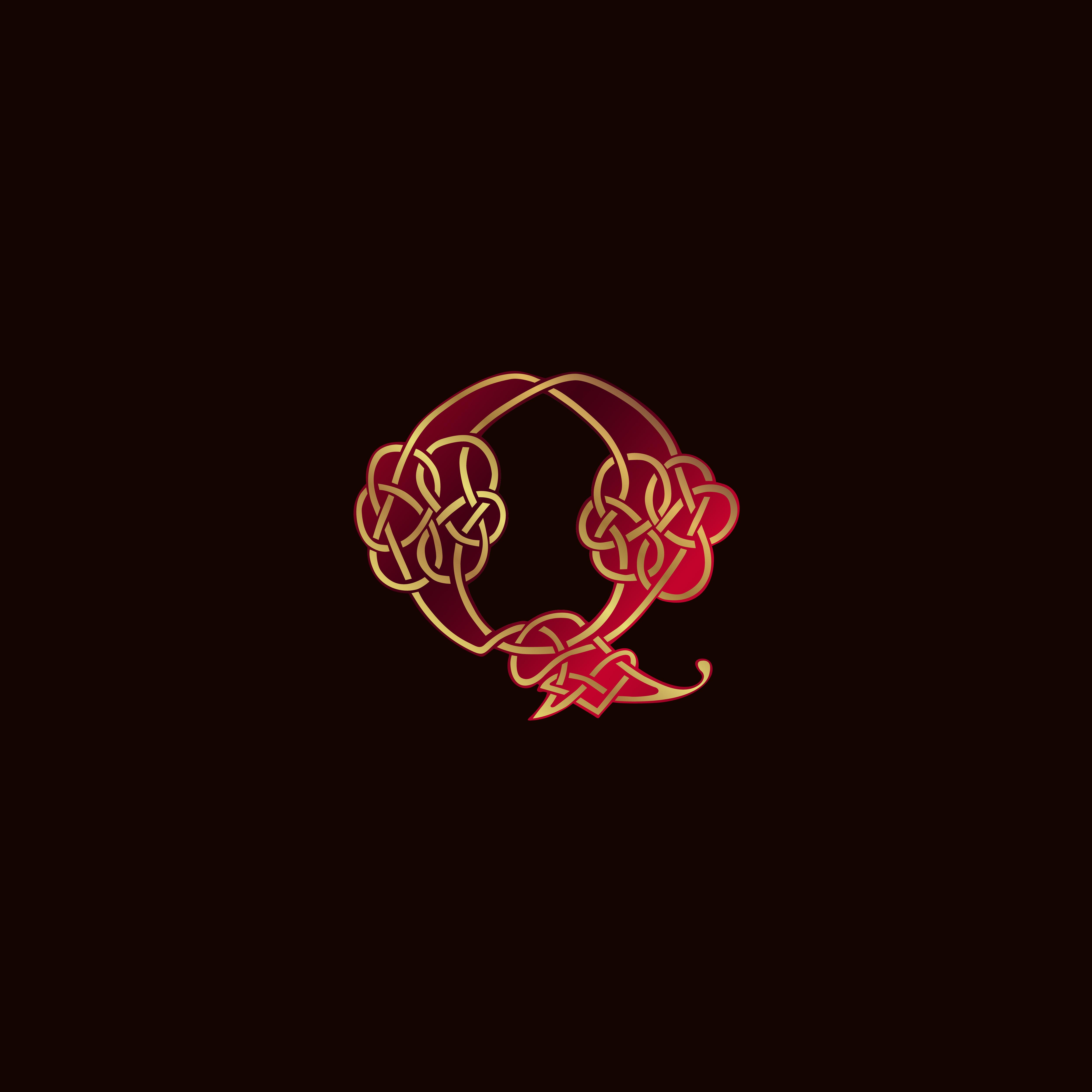 luxury letter Q Decoration Logo design concept template ...