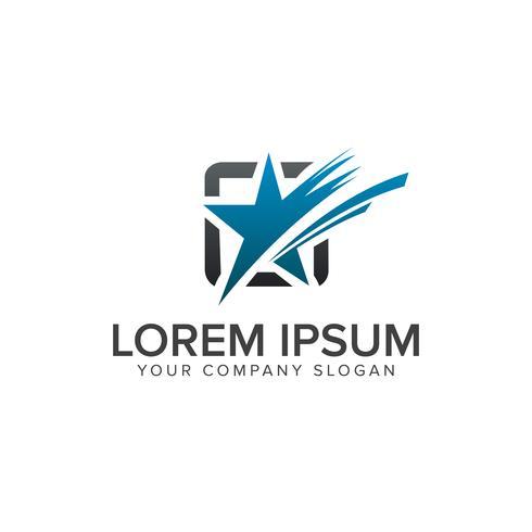 Stern-Logo-Design-Konzept-Vorlage