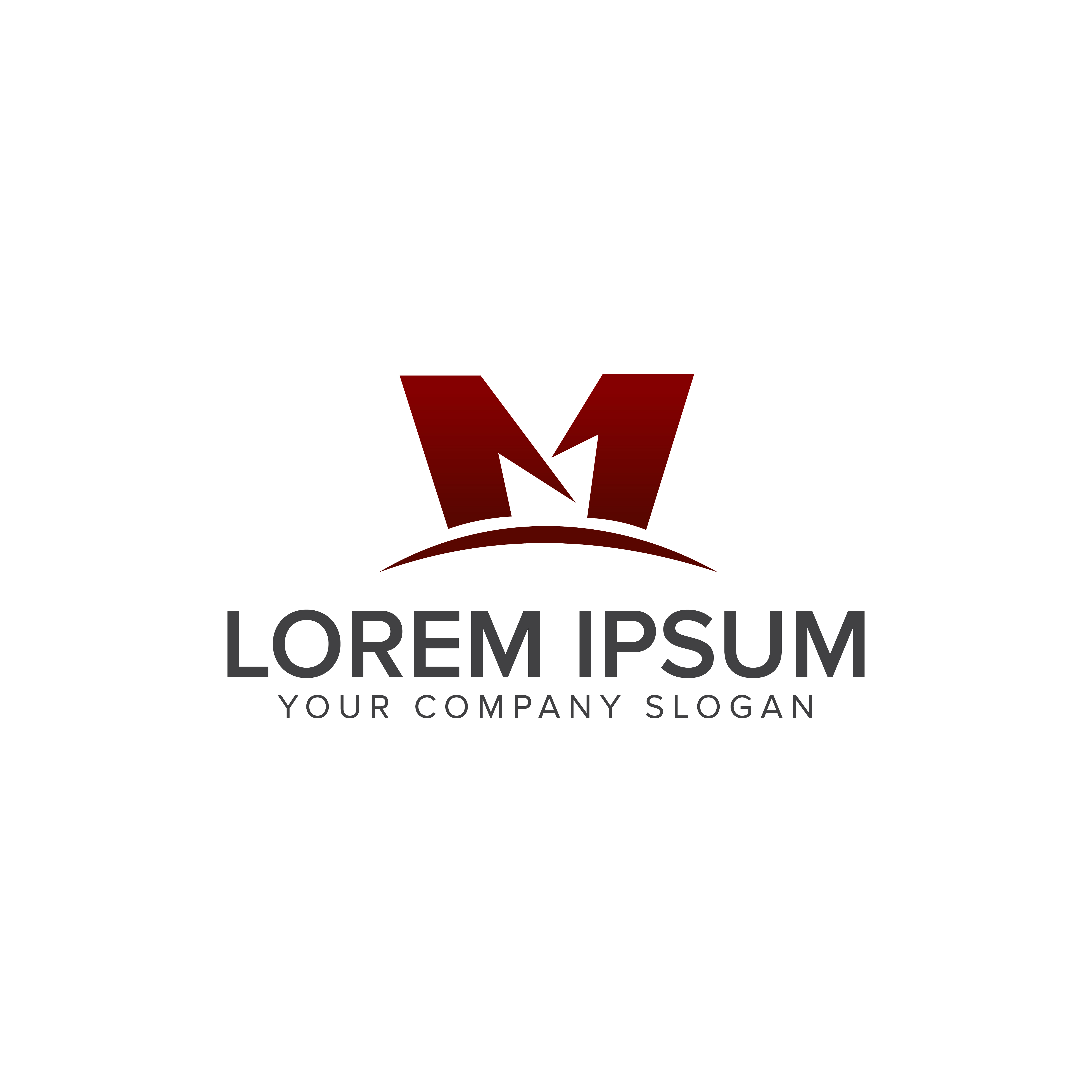 M Logo Design Vector Free Download