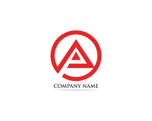 Ein Logo Business Template Vector-Symbol