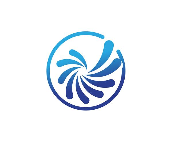 vortex circle logo and symbols template icons  vector