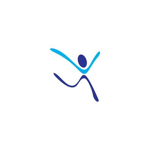 gemeenschaps menselijke logo sjabloon vector illustratie pictogram element geïsoleerd