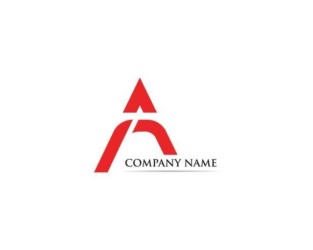 Een logo vector pictogram bedrijfslogo