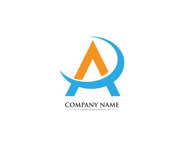 Ein Logo Business Template Vector-Symbol