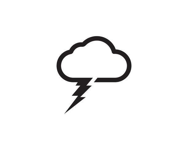 Cloud Server Daten Logo und Symbole Symbole