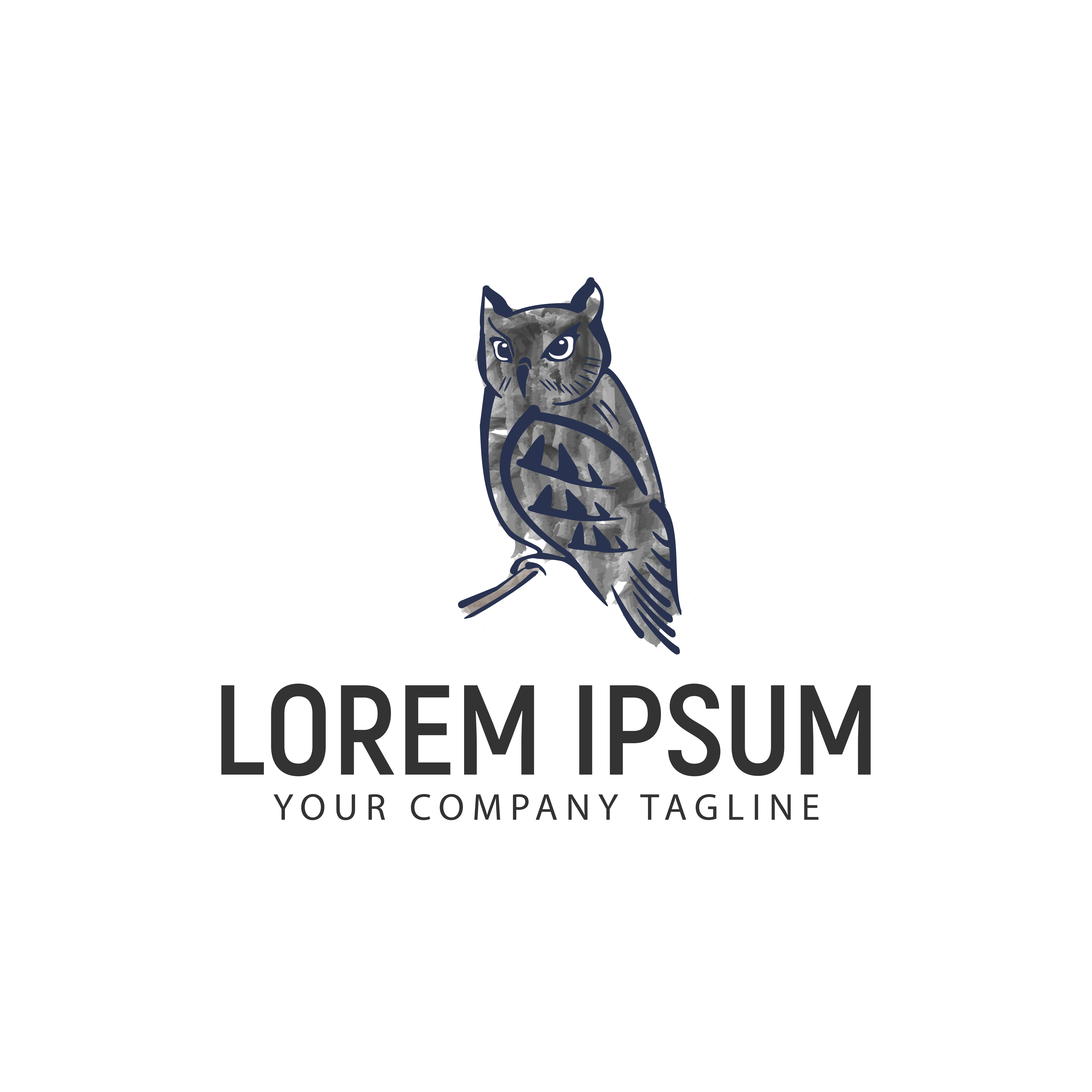 Owl logo with watercolor - Download Free Vectors, Clipart ...