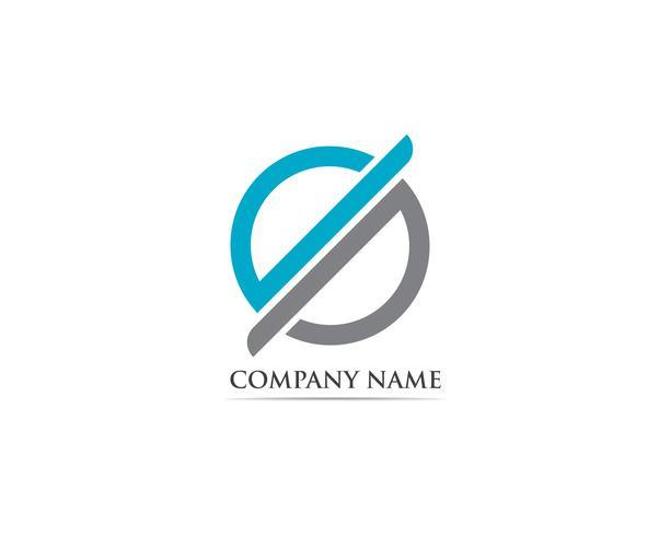 vetor de logotipo e símbolos de finanças