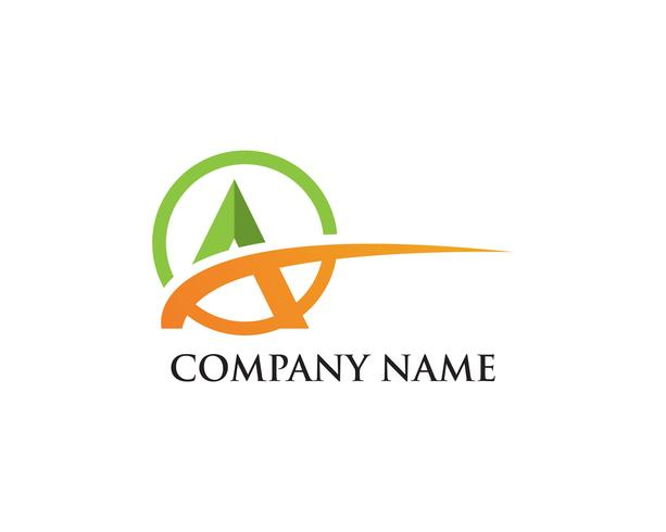 Un icono de Logo Business Template Vector