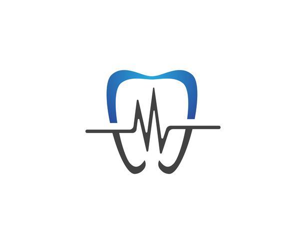 Tandvård logotyp och symboler mall ikoner
