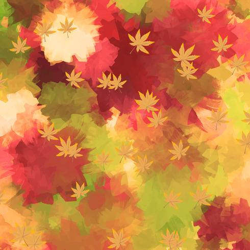 water color autum background