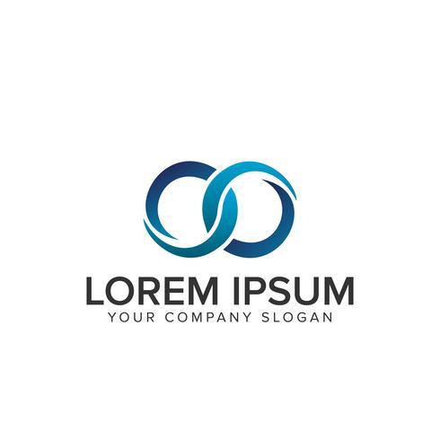 Logo circolare illimitato