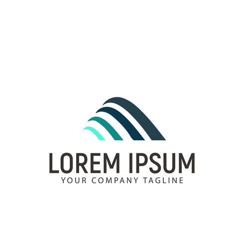 abstrakte Business-Logo-Design-Konzept-Vorlage